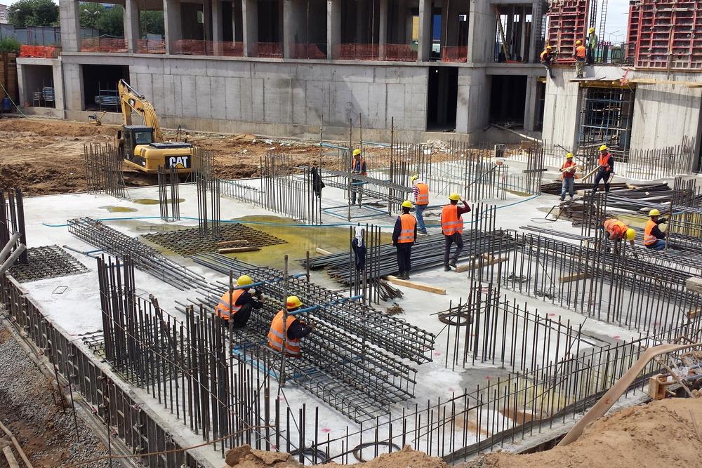 монтажный бетон
